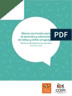 Marco Curricular para la atención y educación de niñas y niños uruguayos