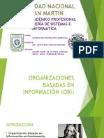 Organizaciones basadas en Información