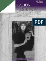 Revista Educación Estética Tragedia Texto Completo