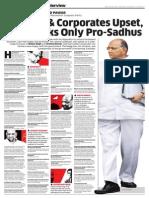 Sharad Panwar's Interview