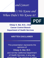 Diet vs Cancer Ppt