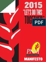 PNM Manifesto 2015