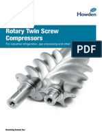 Rotary Twin Screw Compressor Brochure 2014