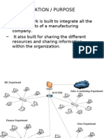 Network of Manufacturing Company