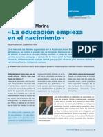 Jose Antonio Marina Sobre Educación