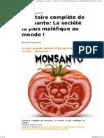 L'Histoire Complète de Monsanto_ La Société La Plus Maléfique Au Monde !