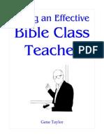 Being an Effective Bible Teacher MM