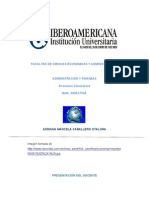Presentacion Economia Colombiana IBERO