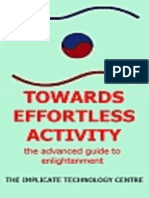 Towards Effortless Activity