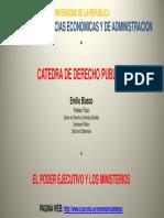 2012-03!27!12.Tema.poder Ejecutivo y Ministerios