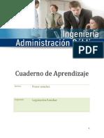 Cuaderno Aprendizaje Legislacion Familiar