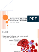 Introduction to Clinical Hematology
