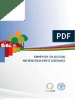Fao-framework for Assessing-Forestgovernance Final