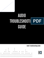 Audio Interfaces Troubleshooting Guide