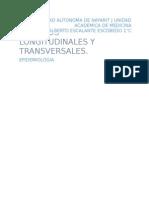 Características de los estudios Longitudinales y Transversales
