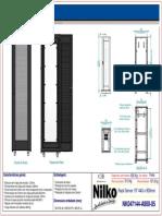 Rack Server 19 44u x 900mm