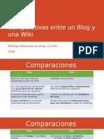 Comparativas Entre Un Blog y Una Wiki