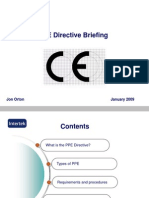PPE Directive Briefing 0901
