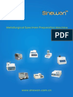 Sinowon Metallographic Specimen Preparation Machine