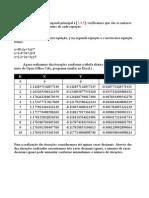 Exercicio Metodos numéricos