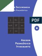 Cuadernillo Evaluación Diag Secundaria (Para El API)