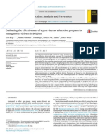 Evaluating the effectiveness of a post-license education program for young novice drivers in Belgium, AAP, 66, 2014.pdf