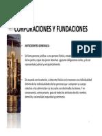 definición corporación-fundación