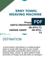 Terry Towel Weaving Machine