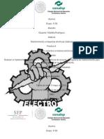 Mantenimiento preventivo a generadores eléctricos