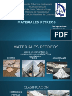 MATERIALES PETREOS