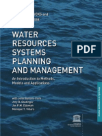 Water Resources Systems Planning Ang Management