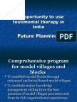 An Opportunity to Use Testimonial Therapy in India