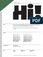 AGILE typography Font