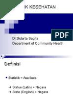 Statistik Kesehatan