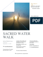 SACRED WATER WALK
