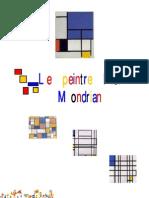 Le Peintre Piet Mondrian