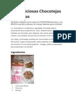 Las Deliciosas Chocotejas Peruanas