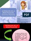 Alteracion de La Menstruacion
