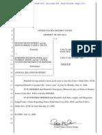 Montgomery v ETreppid #765 - Order Re Source Code - D.nev._3-06-Cv-00056