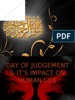 DAY OF JUDGEMENT & IT'S IMPACT ON HUMAN LIFE