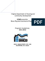 DPA HOMEownership Program Guidelines Application