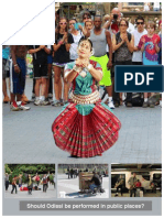 Should Odissi be performed in Public Places?