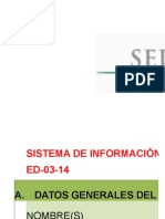 Cedula de Informaciαn Técnica 2014