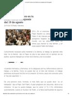 La Voz de Francisco en Tu Radio Con La Catequesis Del 19 de Agosto