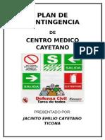 Plan de Seguridad Centro Medico Cayetano