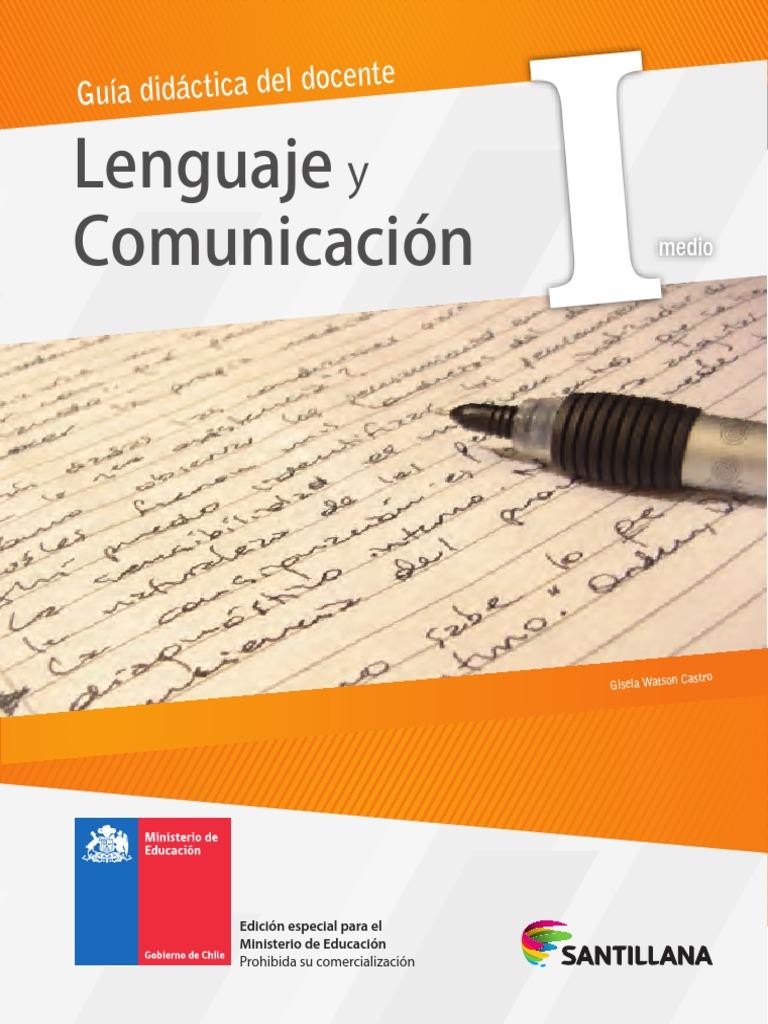 1°Ed. Media - Lenguaje y Comunicación - Profesor - 2014.pdf