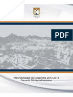 Plan Municipal de Desarrollo 2013-2015 Hermosillo