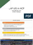 SAP UI5 in HCP