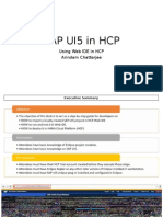 SAP UI5 in HCP
