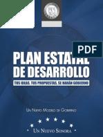 Plan Estatal de Desarrollo 2009-2015
